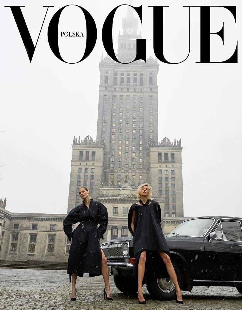 Okładka pierwszego nr Vogue'a w Polsce